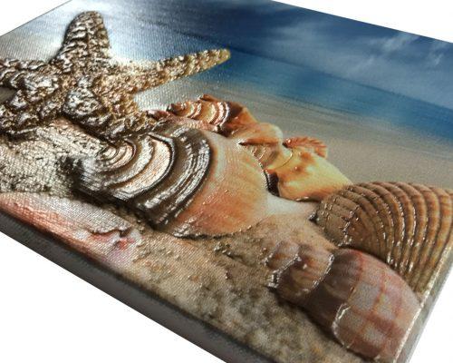 3D photo canvas print 5